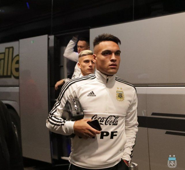 Argentina logró un empate en el final