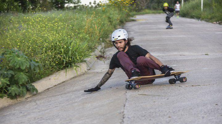 Nico Córdoba tirando estilo.