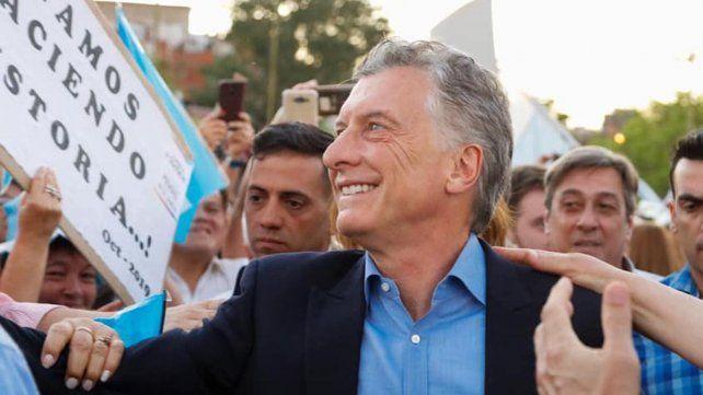 DESAFÍO. Mauricio Macri sigue buscando revertir el resultado de las PASO.