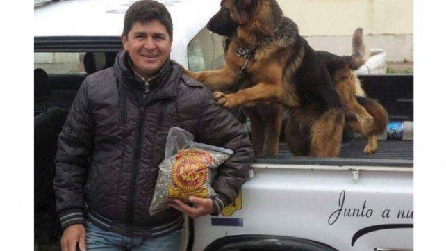 Policía Mauricio Javier Gómez.