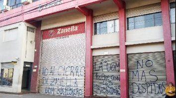 Zanella cerró la planta de Caseros y despidió a 70 empleados