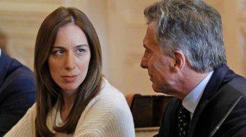 Macri. Hoy volverá a hacer campaña junto a la gobernadora Vidal.
