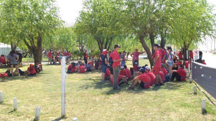 Encuentro: Scouts realizan intervenciones solidarias en Valle María y zona