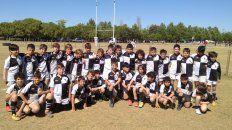 Preparados. Los Menores de 10 años del CAE listos para salir a jugar en Córdoba.