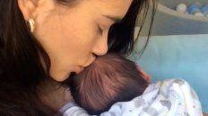 Eva de Dominici presentó a su hijo con un video: Tengo un ángel que no tiene alas
