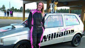 Laura Rader y su pasión por las picadas de autos