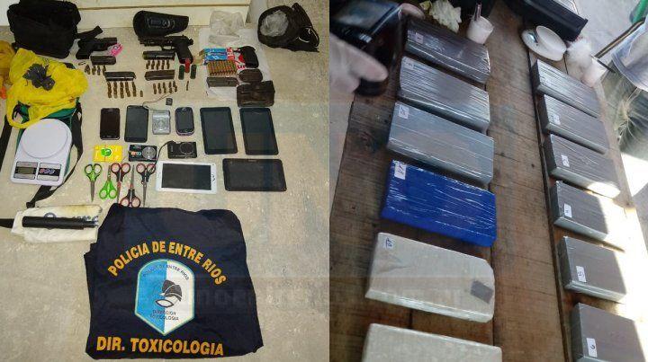 Concordia: En 18 allanamientos secuestraron droga y detuvieron a 12 personas