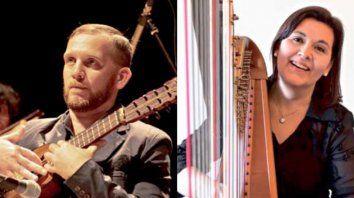 Perfiles. Ambos son reconocidos solistas y desempeñan una intensa actividad docente.