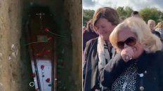 fallecido reclama estar vivo durante su funeral