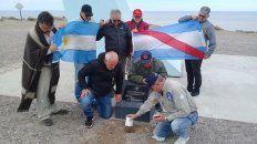 veteranos rindieron un homenaje  a los caidos en malvinas