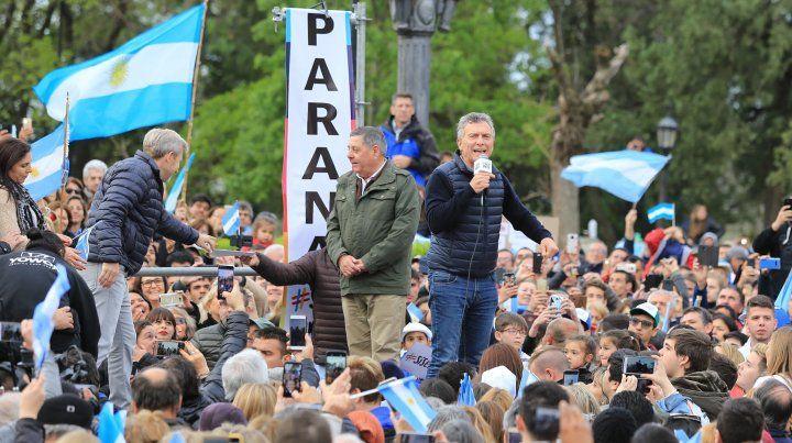 Mauricio Macri pidió el apoyo para dar vuelta la elección presidencial