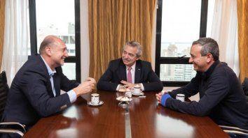 alberto f. se reunio con perotti y el intendente electo pablo javkin