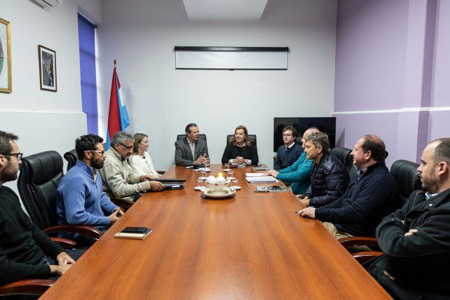Bahl gestiona obras viales prioritarias para Paraná