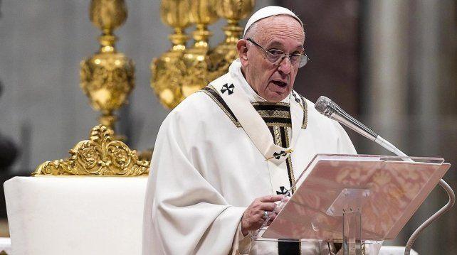 El papa envió una carta al director de la Oficina de Naciones Unidas para la Alimentación y Agricultura.