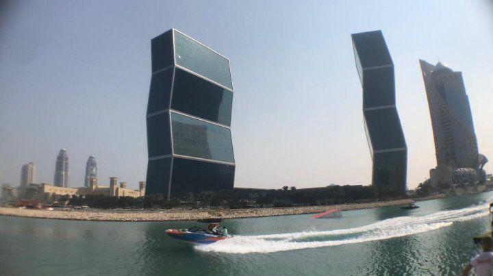 Los edificios de Qatar.