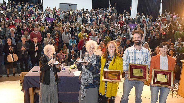 Estela de Carlotto conmovió con su disertación en Concepción del Uruguay