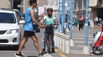 En bicicleta en horario pico, con Victoria Lozano Rendón