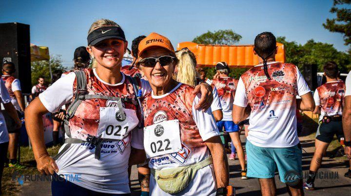 Juntas a la par: son madre e hija y corren maratones