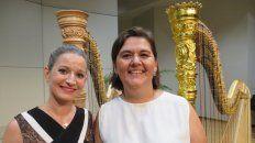 Talento. Las intérpretes, ambas entrerrianas, tienen un gran recorrido musical a nivel internacional.