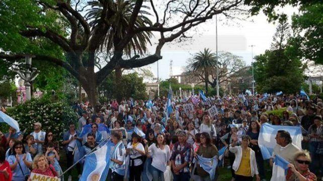 Concordia acompañó a Macri con el #SíSePuede