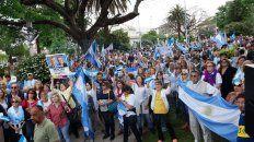 concordia acompano a macri en el #sisepuede