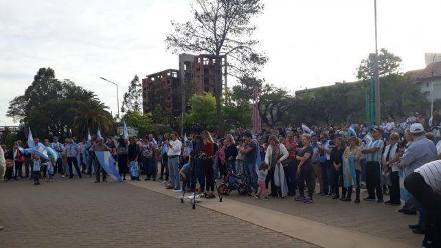 Chajarí se sumó a la Marcha del Millón