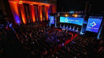 segui en vivo el segundo debate de los candidatos presidenciales