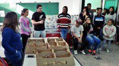 Innovador proyecto para ayudar a familias de niños que asisten a la escuela Esparza