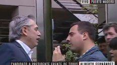 alberto se enojo con un periodista y lo mando a trabajar
