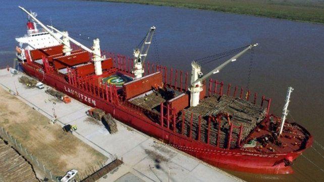 Impulso. Ibicuy es un puerto exportador en pleno proceso de expansión.