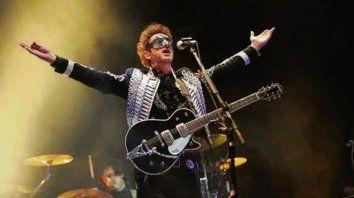 Masivo. Más de 10.000 personas asistieron al concierto en la ciudad mexicana.