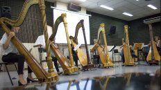 santa fe es sede de la primera academia internacional de arpa