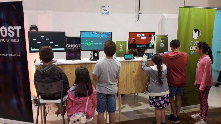 Los videojuegos creados en Paraná tienen muy buena aceptación en diferentes generaciones.