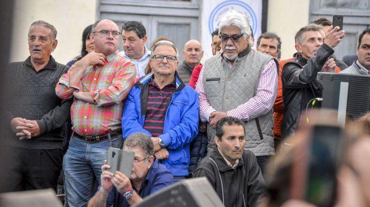 Las 27 fotos de la liturgia peronista en Paraná