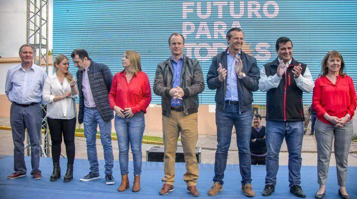 El Frente de Todos cerró la campaña en Paraná