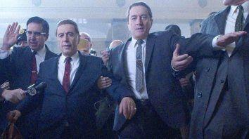 The irishman. El filme de Scorsese, con Al Pacino y Robert De Niro, se verá en la clausura.
