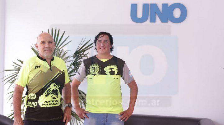Anfitriones. Leopoldo Monzón y Alexis Benitez visitaron UNO y hablaron de los detalles de la competencia. Se van a sorprender