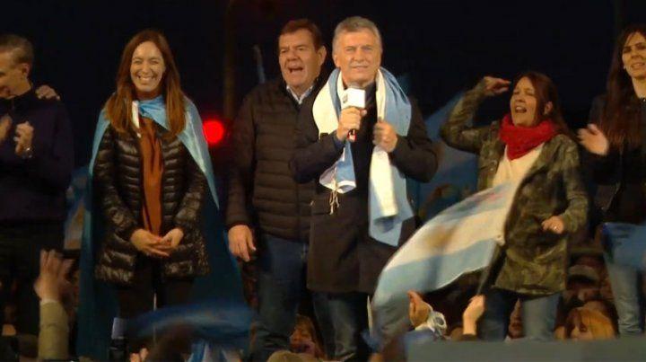 Macri: Quieren que los que pensamos distinto nos callemos
