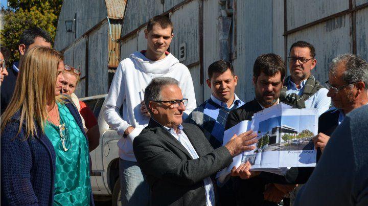 Se inició la construcción del edificio para el Instituto Becario