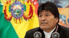 el escrutinio oficial en bolivia le da una diferencia de 10,13% a evo morales