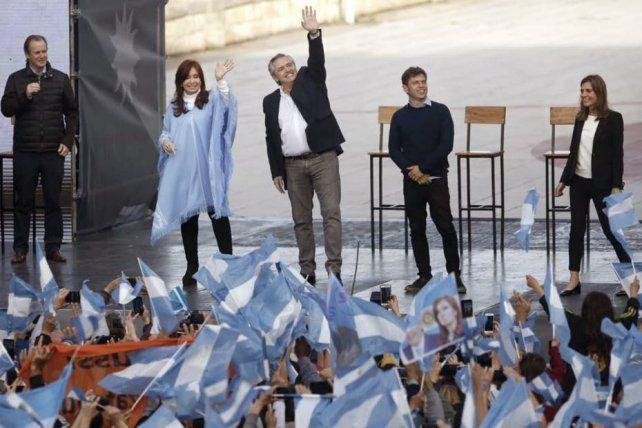 Alberto Fernández: Somos la esencia de lo que quiere el pueblo argentino