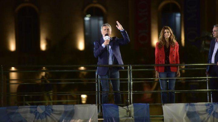 Macri y un masivo cierre de campaña