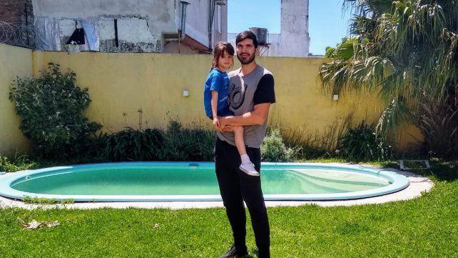 En casa. Zilli volvió a disfrutar de entrenar y jugar en Paraná