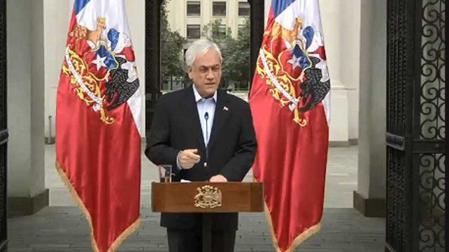Piñera le pidió la renuncia a todo su Gabinete