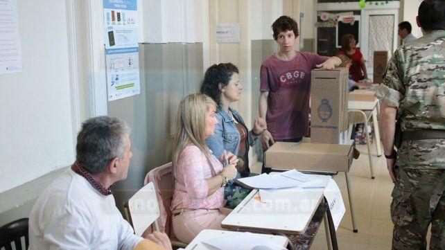 Las primeras imágenes de este 27 de octubre en la escuela Belgrano de Paraná