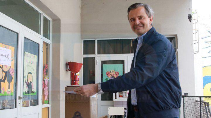 El voto de Adan Bahl, intendente electo de Paraná