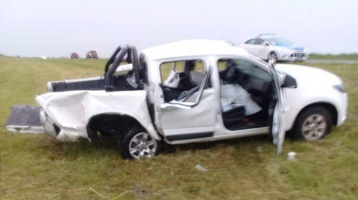 Despiste en la Autovía 14 provocó la muerte de tres personas