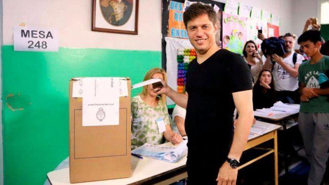 Axel Kicillof logra un contundente triunfo y es nuevo gobernador de Buenos Aires