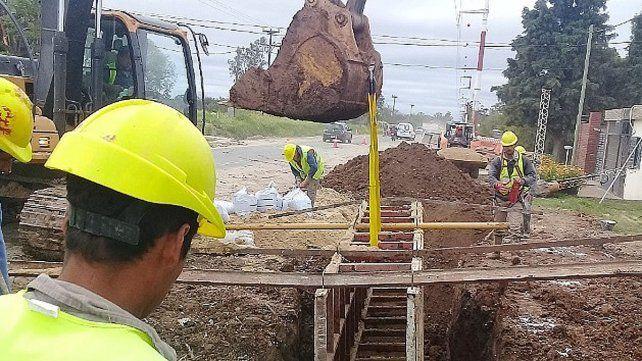 La construcción del colector cloacal sudeste tiene un avance del 56%