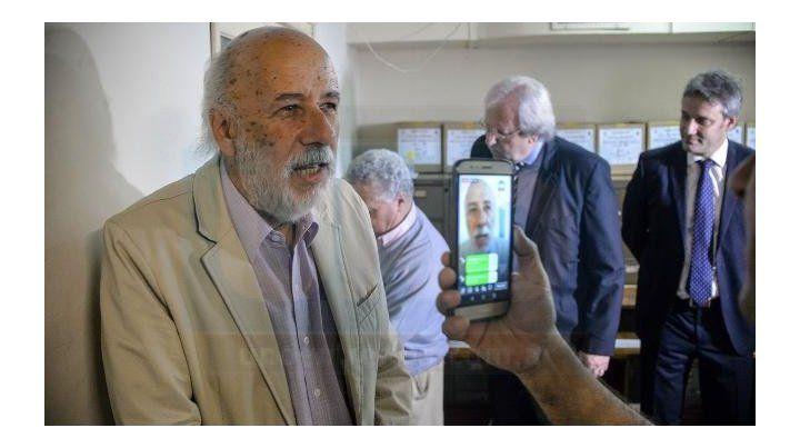 Histórico. El abogado Rubén Efraín Cabrera desde 1982 es apoderado del PJ. Foto: Mateo Oviedo